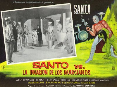 Santo - Santo vs. La Invasion de los Marcianos