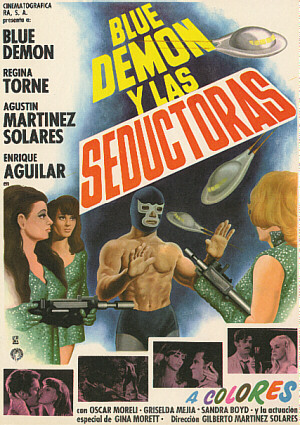Santo - Blue Demon y las Seductoras