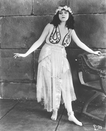 Theda Bara - Flowers