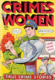 Weird Comics Covers - Crimes by Woman