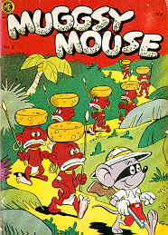 Weird Comics Covers - Muggsy Mouse