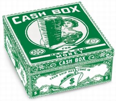 Blechbox Cash Box