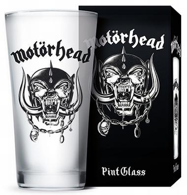 Pint Glas Motörhead Warpig - Frosted
