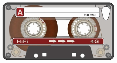 Kassette  - Tape Iphone 5 Cover