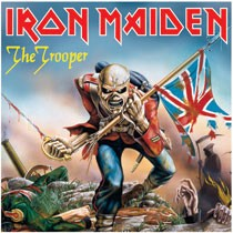 LP Metal Magnet - Iron Maiden