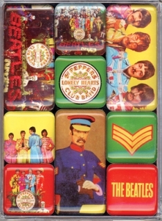 Magnet Set - Beatles (Sgt Pepper)