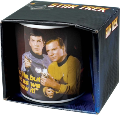 Tasse - Star Trek - It's life