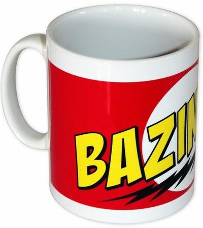 Tasse - The Big Bang Theory Bazinga! Logo
