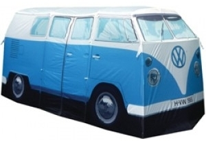 vw bus zelt bulli blau volkswagen pr sentiert von klang und kleid zelt merchandise in. Black Bedroom Furniture Sets. Home Design Ideas