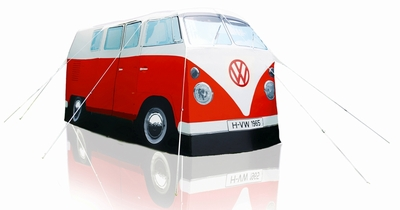 vw bus zelt bulli rot volkswagen pr sentiert von klang. Black Bedroom Furniture Sets. Home Design Ideas