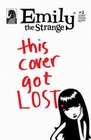 1 x EMILY THE STRANGE COMIC - THE LOST ISSUE