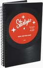 1 x PHONOBOY NOTIZBUCH VINYL - STARLIGHT