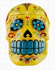 1 x CANDY SKULLS BOX YELLOW