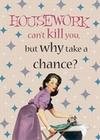 1 x HOUSEWORK CANT KILL YOU - GESCHIRRTUCH