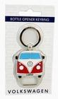 VW BUS BULLI FLASCHENÖFFNER MIT SCHLÜSSELANHÄNGER - ROT