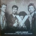 X - Live At L'Amour, NYC, November 26th, 1983 - KBFH FM Broadcast