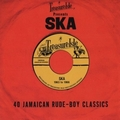 VARIOUS ARTISTS - Treasure Isle Presents Ska - 40 Jamaican Rude-Boy Classics