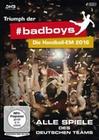 Triumph der nr badboys - Die Handball... [4 DVDs]
