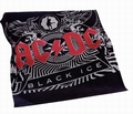 1 x AC/DC FLEECEDECKE BLACK ICE