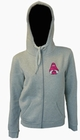 1 x HOODY - LOTUS YOD - GREY - GIRLS PULLOVER