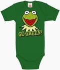 Babybody - Kermit Go Green - Muppets -  grün