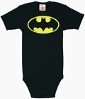 Babybody - Batman Logo - schwarz