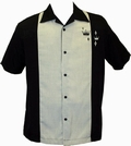 1 x STEADY CLOTHING BOWLING HEMD - CONTRAST CROWN