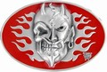 3 x DEVIL SKULL -  BELT BUCKLE