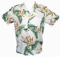 Original Hawaiihemd - Bird of Paradise - Cream - Paradise Found