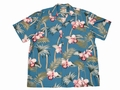 Original Hawaiihemd - Orchid Bamboo Blue - Paradise Found