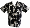 Original Hawaiihemd - Pareau Paradise - schwarz - Paradise Found