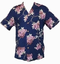 Original Hawaiihemd - SAKURA - Navy - Paradise Found