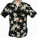 Original Hawaiihemd - Star Orchid - Schwarz - Paradise Found