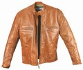 1 x CAFE RACER - AGED TAN STEERHIDE