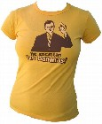 1 x VINTAGEVANTAGE - BANANAS  GIRLIE SHIRT