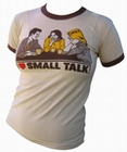 4 x VINTAGEVANTAGE - SMALL TALK GIRLIE SHIRT