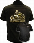 2 x DAVID VICENTE - MOTORCYCLE WORKER SHIRT