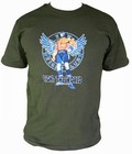 x FIGHT THE WORLD - OLIVE SHIRT