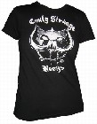 2 x EMILY THE STRANGE - EMILY STR�NGE R�CKS - SHIRT