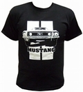 3 x MUSTANG SHIRT SCHWARZ - TOXICO