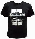 x MUSTANG SHIRT SCHWARZ - TOXICO