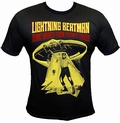 1 x LIGHTNING BEAT-MAN SHIRT - BLACK