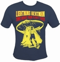 2 x LIGHTNING BEAT-MAN SHIRT - BLUE
