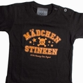 x M�DCHEN STINKEN -  KIDS SHIRT