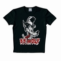 x LOGOSHIRT - B.B. WOLF SHIRT - BLACK