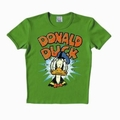 1 x LOGOSHIRT - DONALD DUCK SHIRT - GREEN