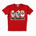 2 x LOGOSHIRT - PANZERKNACKER SHIRT - RED