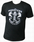 4 x THE MONSTERS - HURT - MEN-SHIRT
