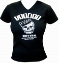 Voodoo Rhythm Girlie-Shirt