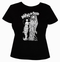 4 x WAKING THE DEAD - GIRLS SHIRT  - SCHWARZ